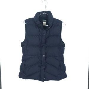J.Crew Down Feather Sleeveless Jacket Vest <flaw>
